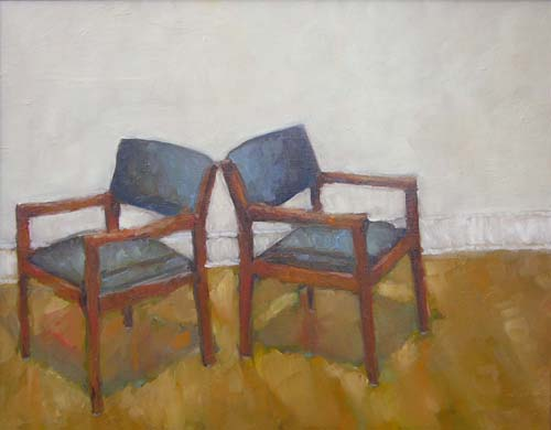 Two Blue Chairs