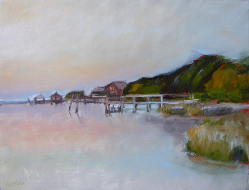 marshy banks