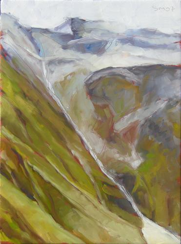 Furka passe mountainsides II