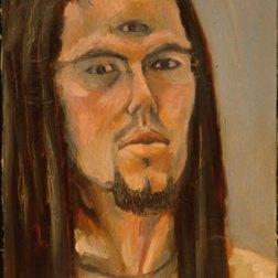 Self Portrait with Third Eye