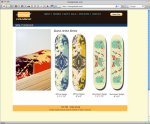 Charge Skateboards and Apparel Site