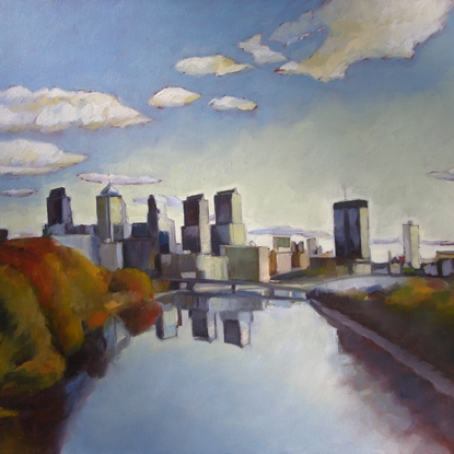 Seven Towers on the Schuylkill