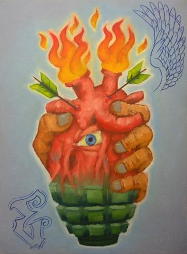 Sacred Heart Grenade