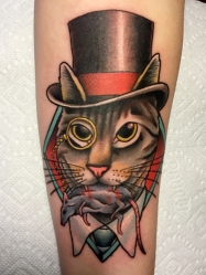 cat top hat